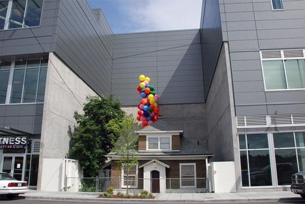 """Именно этот дом вдохновлял создателей мультфильма """"Вверх"""""""