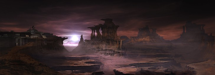 Фото №2 - Doom! Ад! Сатана! Дьявольски кровавые и эксклюзивные концепт-арты из грядущего игроужастика
