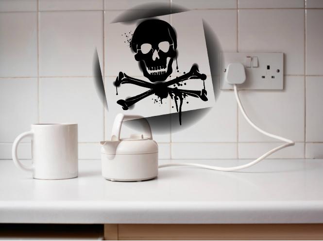 Фото №1 - Прочитав эту новость, ты никогда больше не будешь пользоваться чайником в гостиничном номере