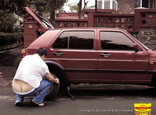 Фото №12 - 14 смешных реклам на тему ожирения и похудения