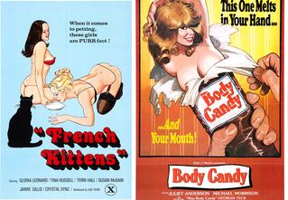 Самые шикарные рисованные постеры эротических фильмов