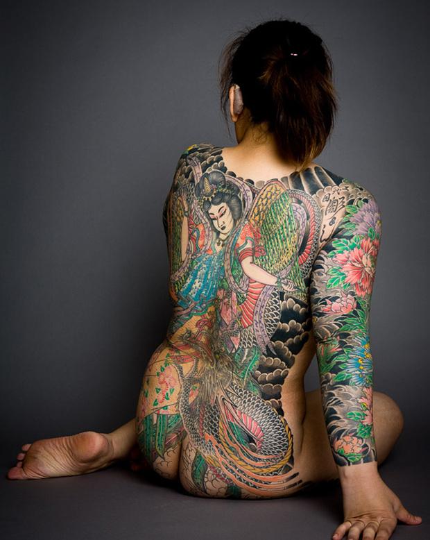 Японские традиционные (ирезуми)
