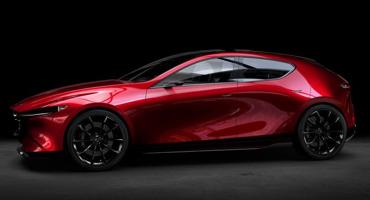Фото №9 - Концепт Kai — предвестник новой Mazda3?