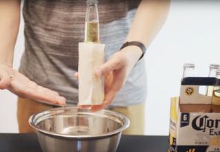 Три способа быстро охладить пиво