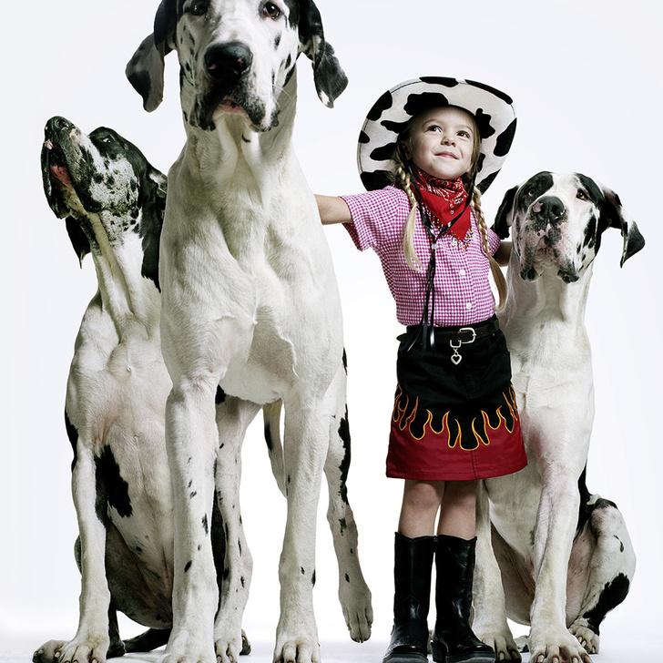 Фото №1 - Как очаровывать детей и собак (и не перепутать кого как)