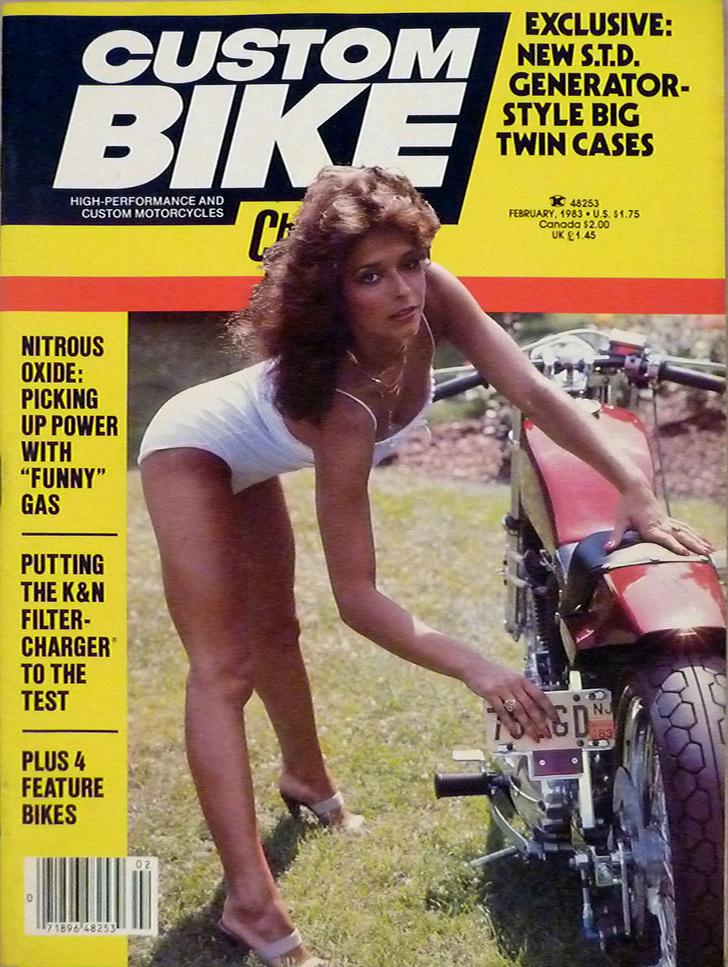 Фото №16 - Сексуальные девушки байкеров из 1980-х!