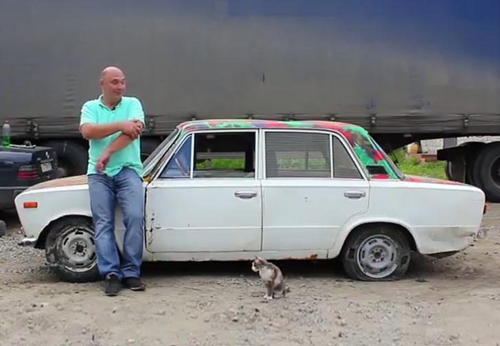 Фото №1 - Что будет, если залить бетон в автомобильные шины? Познавательное видео!