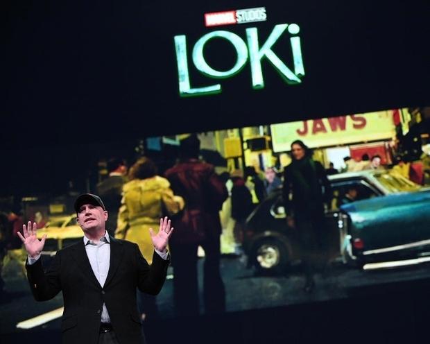Фото №2 - Marvel показали первый кадр из нового сериала про Локи с Томом Хиддлстоном