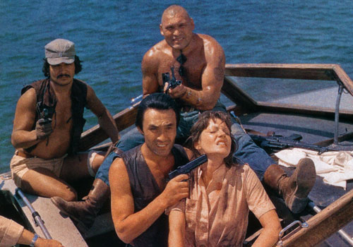 Фото №4 - Жизнь и смерть актера, пирата и просто хорошего каратиста Талгата Нигматулина
