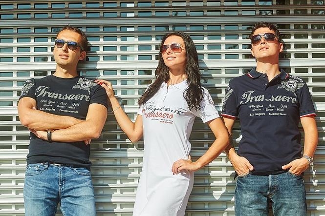 «Трансаэро» запускает небесную коллекцию одежды