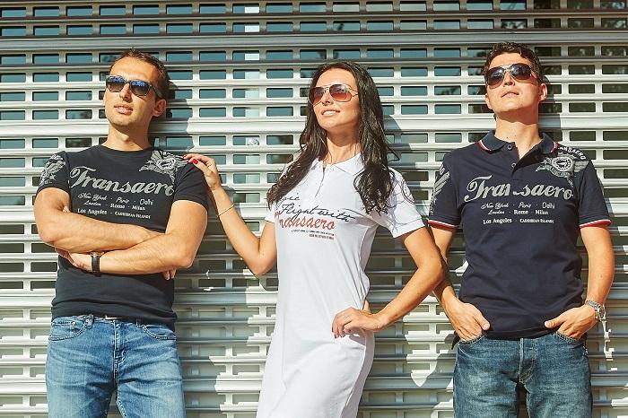 Фото №3 - «Трансаэро» запускает небесную коллекцию одежды