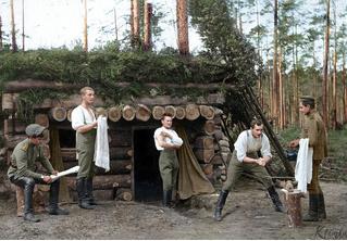 29 раскрашенных фотографий русских солдат на фронтах Первой мировой войны