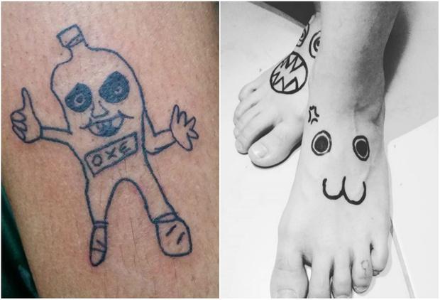 Фото №1 - Найден худший татуировщик в мире!