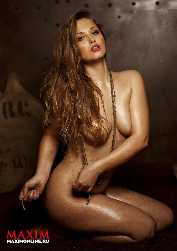 Фотосессия Ирины Забияки Для Maxim