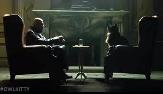 Монтажер продолжает вставлять в фильмы свою кошку — и это по-прежнему очень смешно (видео)