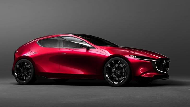 Фото №1 - Концепт Kai — предвестник новой Mazda3?