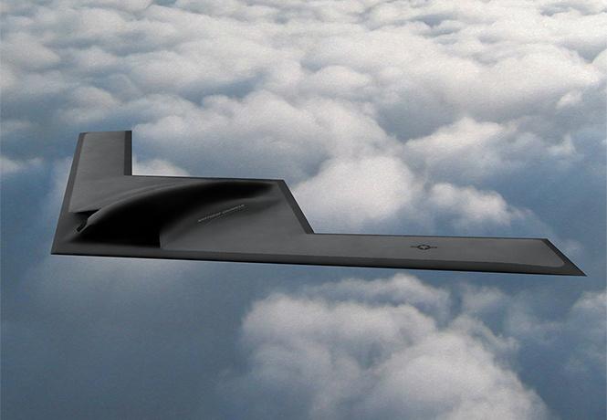 Американцы устроили презентацию новейшего бомбардировщика-убийцы