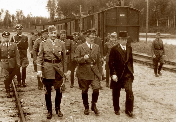 Маннергейм иГитлер. 1942 год