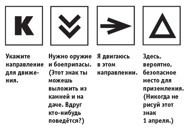 Фото №3 - =, х, F, K, → и другие сигналы, которые тебя спасут