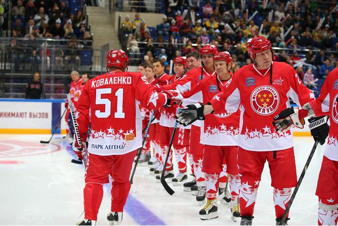 Выиграй билет на финал Лиги Легенд мирового хоккея!
