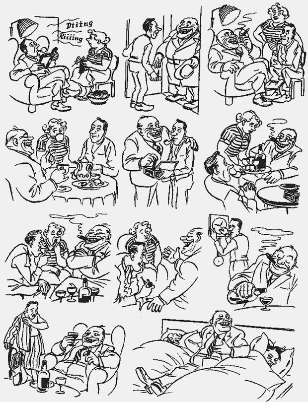 Фото №4 - Над чем смеялись наши отцы: карикатуры Херлуфа Бидструпа