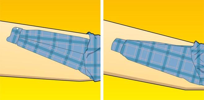 Фото №1 - Как правильно гладить рубашки