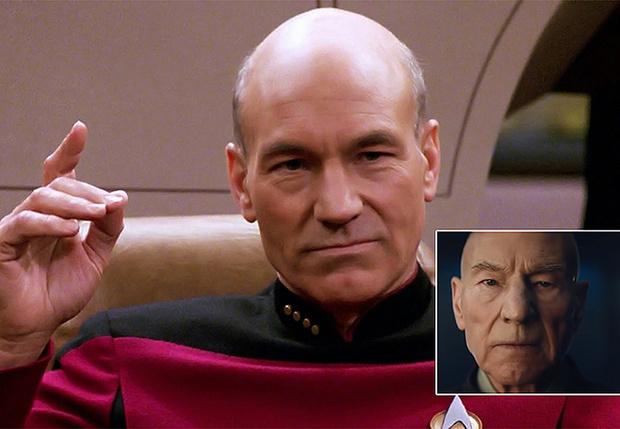 Фото №1 - Тизер-трейлер нового сериала «Звездный путь» с нашим любимым капитаном