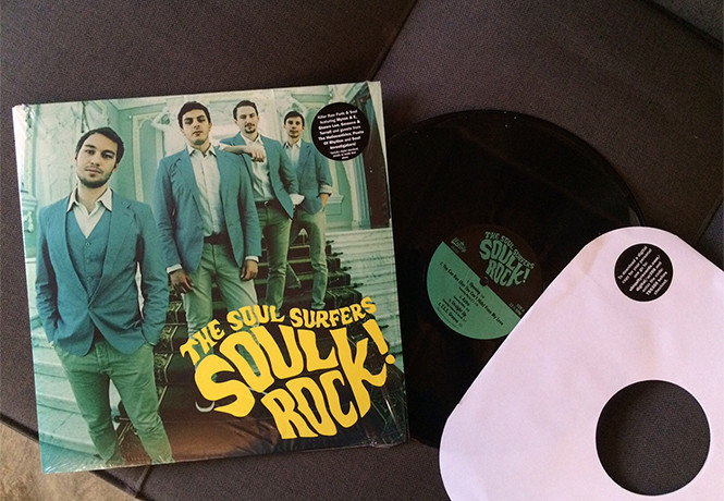 The Soul Surfers, Soul Rock!, винил