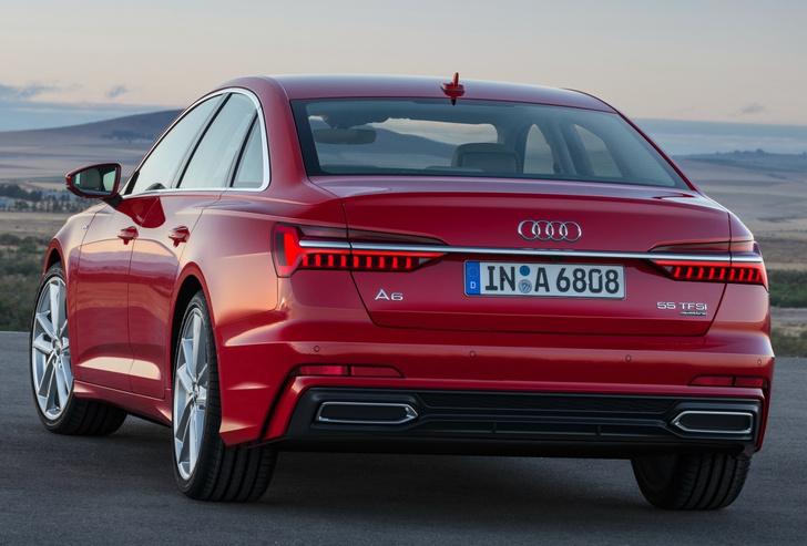 Фото №5 - Новый Audi A6 готов обходиться без водителя