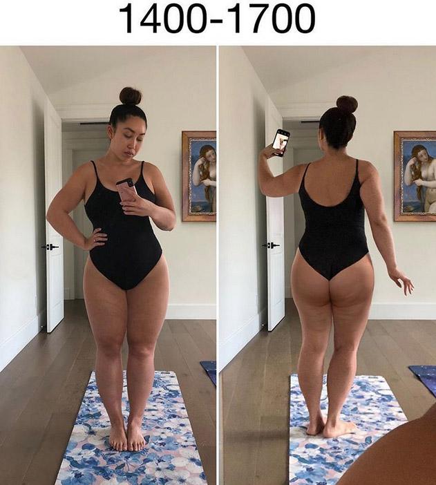 Фото №2 - Фитнес-блогерша наглядно показала, как менялись стандарты женской красоты