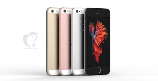 Фото iPhone SE по версии Macrumors