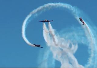 Российские асы показали новую фигуру высшего пилотажа (видео)