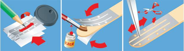 Фото №1 - Как сделать дубликат ключа из палочки от мороженого