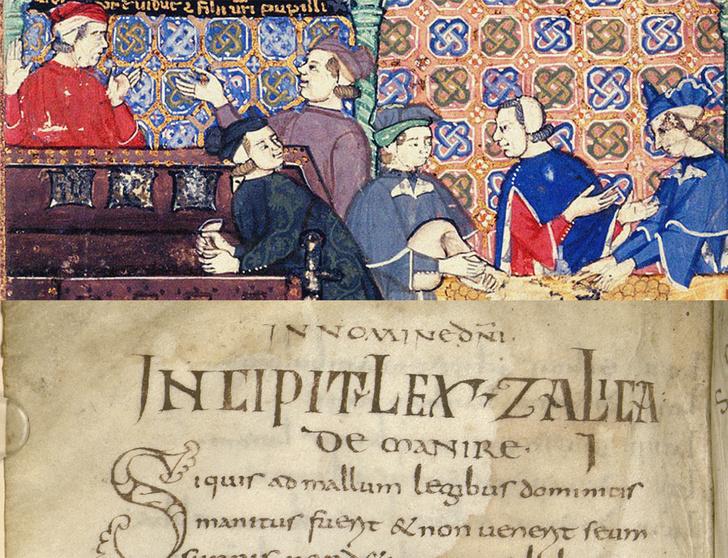 «Салическая правда», рукопись VIIIвека