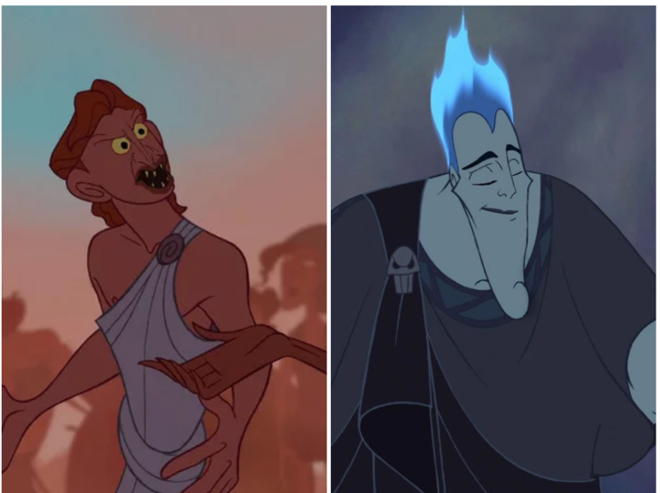 Фото №4 - Вот как выглядят диснеевские герои и злодеи, если их лица поменять местами