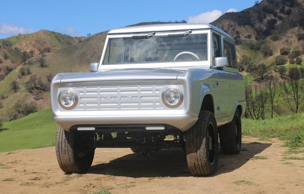 Фото №1 - Самый лучший ретрофутуризм: электрический Ford Bronco