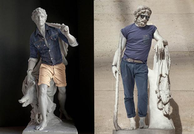 Фото №1 - Почему у античных статуй такие, гм, маленькие пенисы?