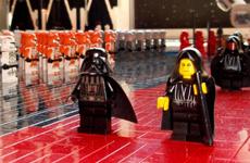 Самая внушительная LEGO-инсталляция