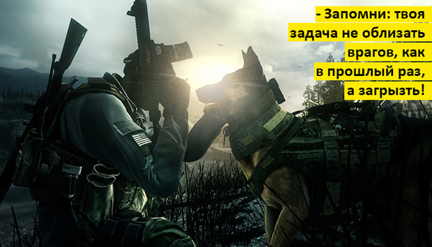 Фото №1 - 5 причин ждать выхода Call of Duty: Ghosts