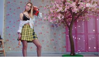 Марьяна Ро на обложке MAXIM (видео со съемки)