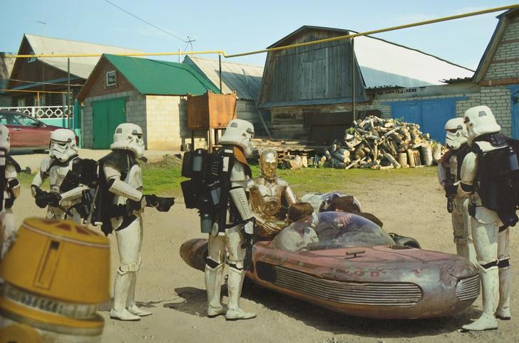 Фото №19 - Вот что получилось бы, если бы голливудские фильмы снимали в России!