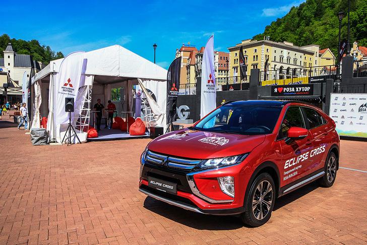 Что общего между новым кроссовером Mitsubishi Eclipse Cross и ежегодным фестивалем бега ROSARUN?