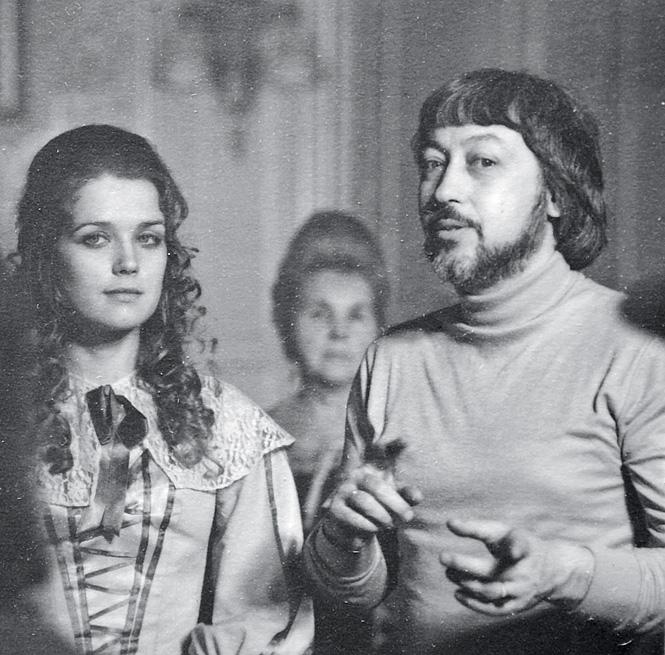 Георгий Юнгвальд-Хилькевич и Ирина Алферова