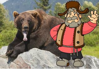 Сибиряк отбился от медведя, откусив ему язык