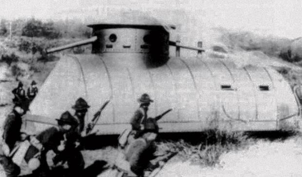 Фото №1 - Бесславные ублюдки: самые уродливые танки, созданные за всю историю вооружений