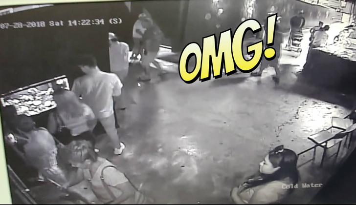 Фото №1 - Троица виртуозно крадет акулу с помощью детской коляски! Галлюциногенное ВИДЕО