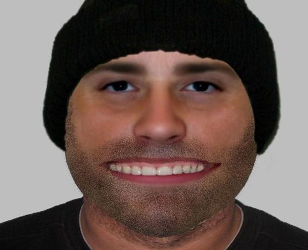 Фото №1 - Полиция объявила в розыск грабителя с подозрительно широким ртом