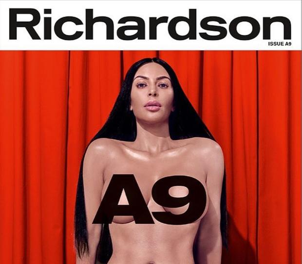 Фото №1 - Ким Кардашян снялась обнаженной для обложки эротического журнала