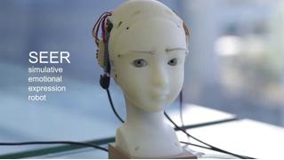 Японцы разработали робота, который полностью повторяет мимику человека (видео)