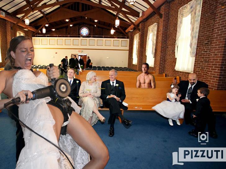 Фото №10 - Интернет феерично отреагировал на фото невесты, избавляющейся от пояса верности!